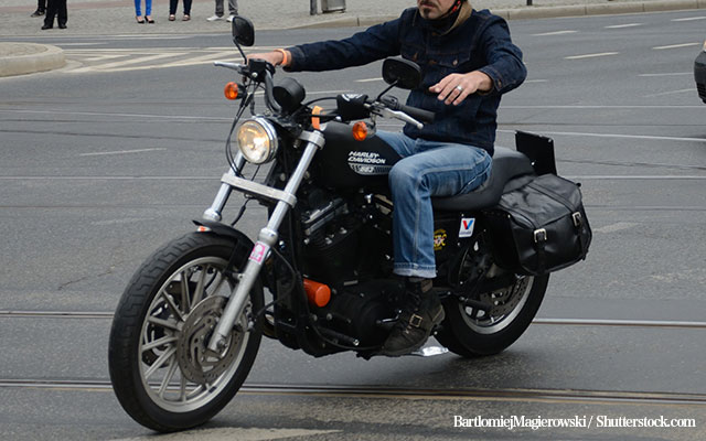 「Googleストリートビューに映るチャンス」 バイク乗りは驚きの行動に出た