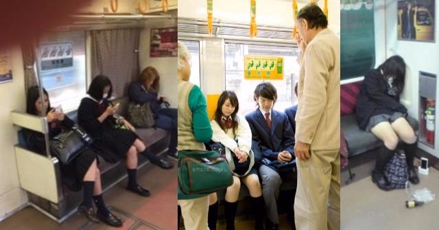 優先席に座る妊婦に学生が悪態をついたその時!!誰もが予想しない人物の逆鱗に触れ車内騒然!