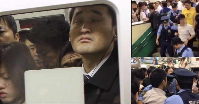 【注意喚起!!】「電車通勤やめてチャリ通すれば?」朝の通勤ラッシュで人生崩壊!恐怖の満員電車。