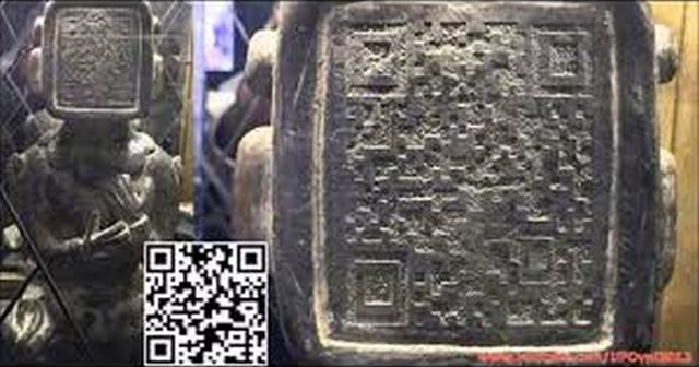 【謎すぎ】いまだ謎の多い古代マヤ文明の彫刻からQRコード!??