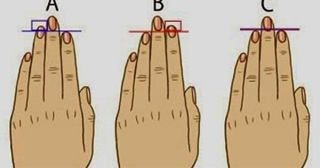 あなたはどのタイプ?指の長さでわかる性格診断。怖いほど当たると話題に。