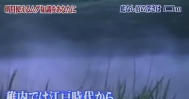 本当にあった底なし沼を「トリビアの泉」が徹底検証。結果があまりにも衝撃的でおじいちゃんが・・・