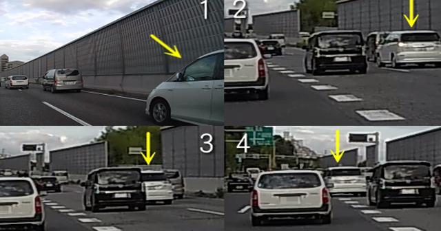 【動画あり】煽り運転をするオラオラ車へ○○な仕返しをした結果w