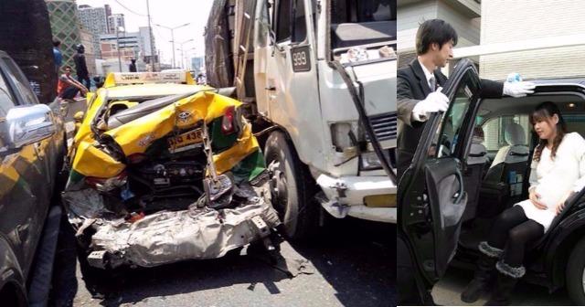 妊娠中の妻がタクシー移動中にトラックとの事古攵タヒ…加害者父「私と家内がタヒんでお詫びしますから…」