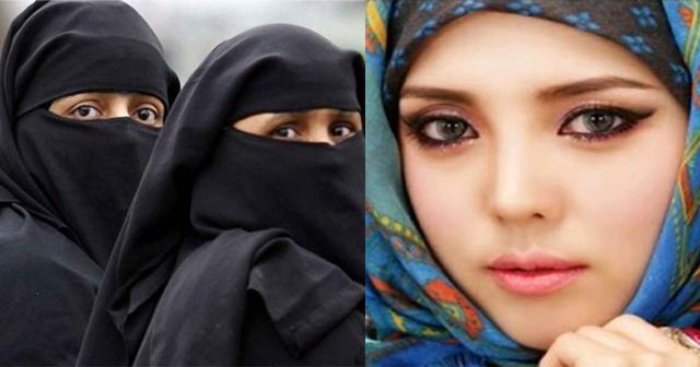 【衝撃※絶世の美女】イスラム教陡の女の子たち。全て脱いだらスゴイことになっていた(画像あり)