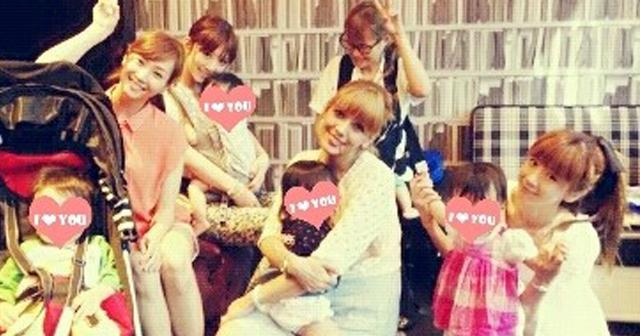 SHEILAブログにほしのあき、小倉優子、藤本美貴、など登場。安定の美貌と華麗なるママ友集団が凄い!