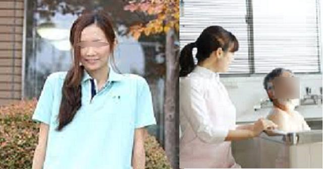 今、介護施設がヤバイww美人介護士「それでは、手で〇〇しますね~♡」(※画像)
