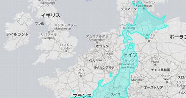 """【日本は意外と大きかった!】世界地図とは違う""""国の本当の大きさ""""が衝撃的だと話題に!"""