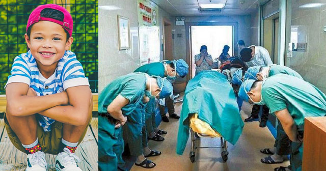 【思わず涙…】11歳の少年の遺体に深く敬礼する医師たち。誰もが涙したという、その理由とは…?