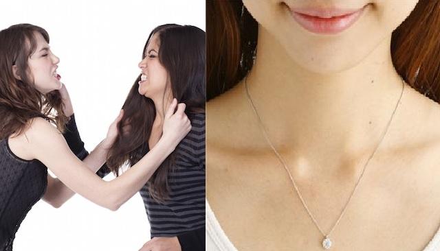 【ありえない!!】結婚記念日にダイヤのネックレスを貰った→キチママ『それ頂戴!』私「冗談でしょwww」ママ友「あなたも旦那さんに買ってもらえば?w」→すると、キチママ突然…