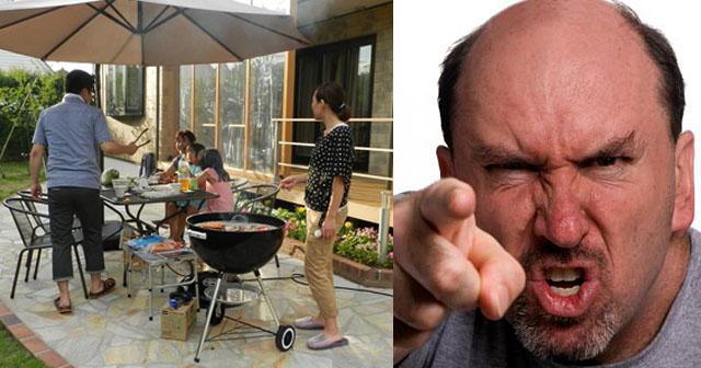 【クレクレ】庭で焼肉をしていたら、近所のママが幼児を連れて乱入してきた。驚いたドイツ人のいとこ夫が、ド直球に…w→いとこ宅の庭はカオスと化した。