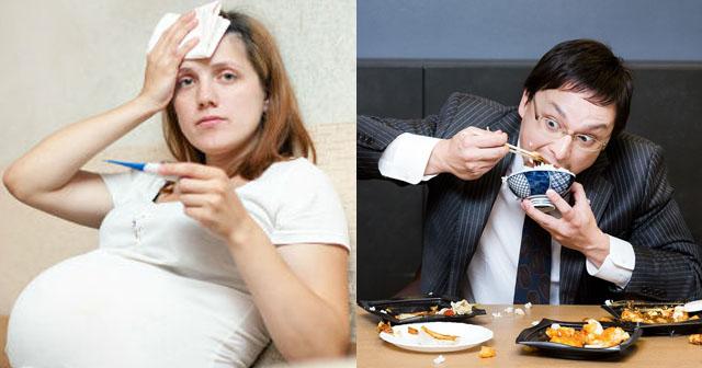 【ダメ夫】妊娠中の嫁から「熱がでて辛い。晩ご飯買って来て下さい」と連絡が。晩飯ないのかと思って食べて帰ったら、嫁がキレた。嫁「私達のことは何も考えられないんだね」