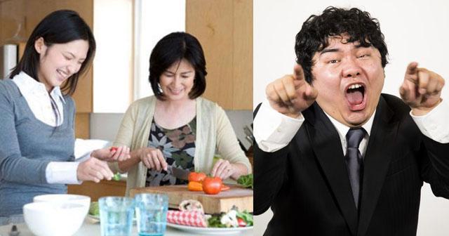【スカッと!】義実家で食事中、私の料理sageトークを始めた夫「嫁子は毎日似たようなものしか作れないから、ため息しか出ないw母さんの爪の垢を煎じて飲ませたいw」それを聞いた義母は、おもむろに立ち上がり夫の頭を…!