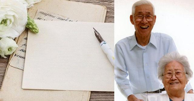 【最後の手紙】おじいさんが亡くなってから、ショックで気落ちしていた近所のおばあさんが、次第に明るく別人のように綺麗になっていった!私はその理由を聞いて、思わず涙した…
