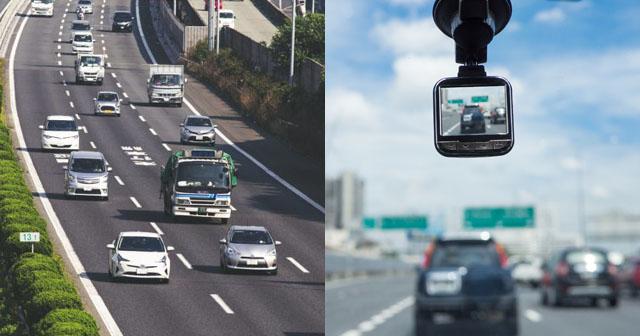 【スカッと!】高速道路で走行車線を走っていたら、後ろからトラックに煽られて幅寄せされた。その様子を動画撮影していたA子が「うちの会社の奴だわ…」と言いだして…